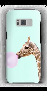 Giraffe met bellenblaas hoesje Galaxy S8