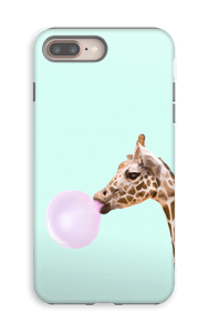 Bubbly giraffe case IPhone 8 Plus tough