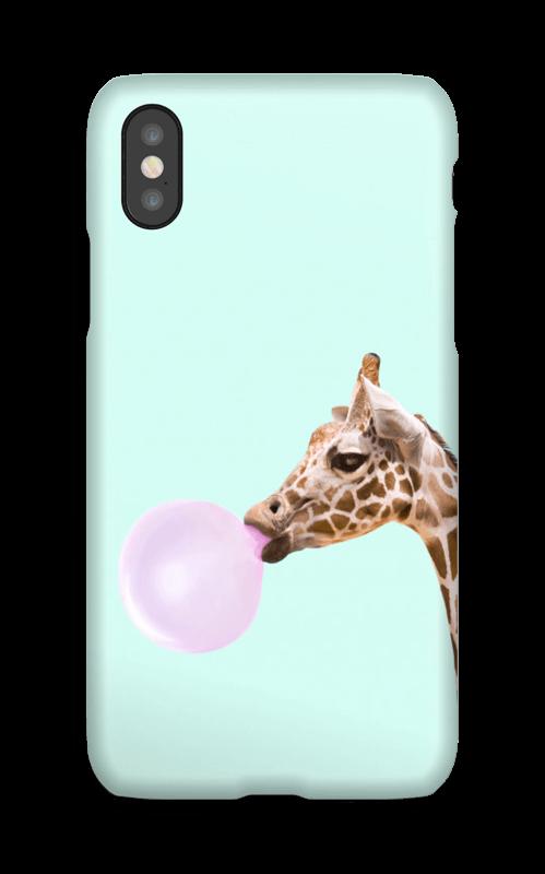 Boblende giraff deksel IPhone X
