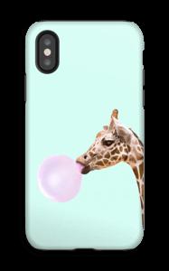 Purkka kirahvi kuoret IPhone X tough