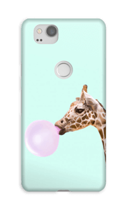 Jirafa Comiendo Chicle funda Pixel 2