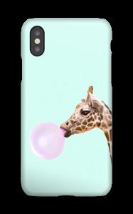 Boblende giraff deksel IPhone XS