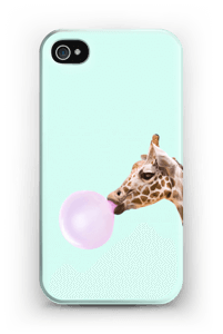Bubbly giraffe case IPhone 4/4s
