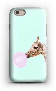 Bubbly giraffe case IPhone 6s tough