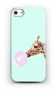 Bubbly giraffe case IPhone SE