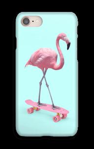 Flamingo på skateboard cover IPhone 8