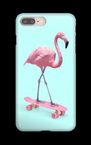 Flamant Rose Skate Coque  IPhone 8 Plus