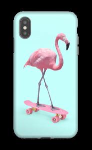 Flamant Rose Skate Coque  IPhone XS Max tough