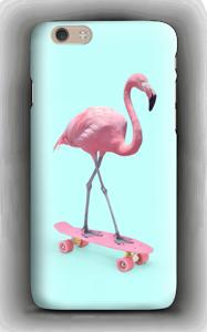 Flamingo på rullebrett deksel IPhone 6