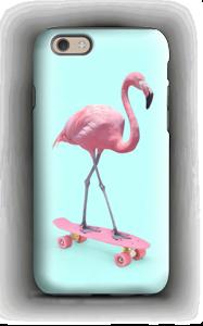 Skeittari flamingo kuoret IPhone 6 tough