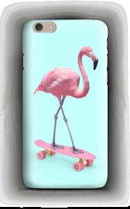 Flamingo on skateboard case IPhone 6 Plus
