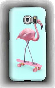 Skeittari flamingo kuoret Galaxy S6 Edge