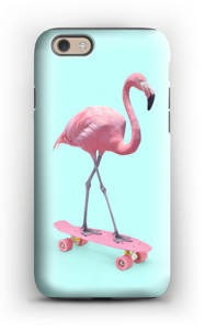 Skeittari flamingo kuoret IPhone 6s tough
