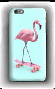 Flamingo on skateboard case IPhone 6s Plus