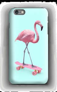 Skeittari flamingo kuoret IPhone 6s Plus tough