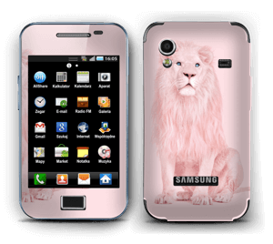 Lion all in pink Skin Galaxy Ace