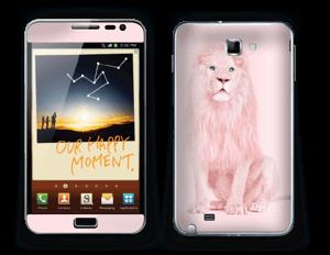 A Pink lion? Skin Galaxy Note