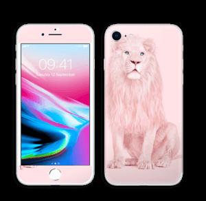Rosa Løve Skin IPhone 8