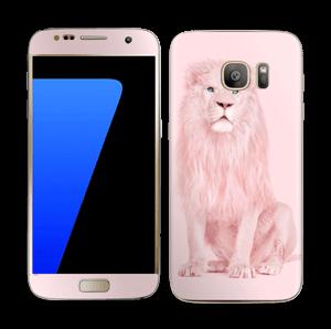 Rosa Løve Skin Galaxy S7