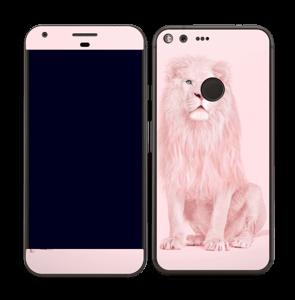 Rosa Løve Skin Pixel XL