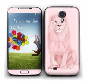 Lion all in pink Skin Galaxy S4