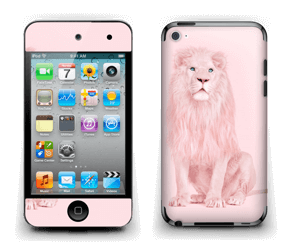 Lion all in pink Skin IPod Touch 4th Gen