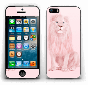 Lion all in pink Skin IPhone 5s