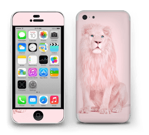 A Pink lion? Skin IPhone 5c