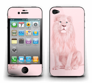 A Pink lion? Skin IPhone 4/4s