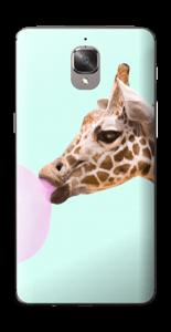 Giraff blåser boble Skin OnePlus 3