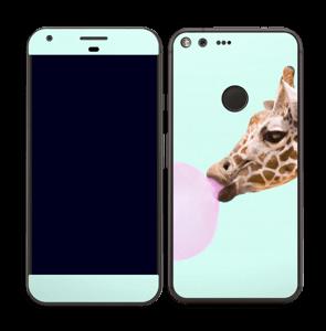 Giraffe Gum Skin Pixel XL