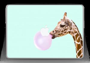 "Giraff blåser boble Skin MacBook Pro 13"" -2015"