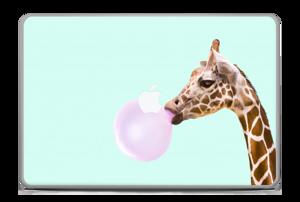 "Giraff blåser boble Skin MacBook Pro 17"" -2015"