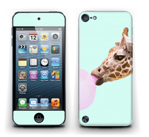 Giraffe with a chewing gum Skin IPod Touch 5th Gen