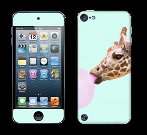 Giraff blåser boble Skin IPod Touch 5th Gen