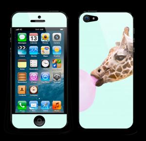 Giraff blåser boble Skin IPhone 5