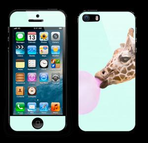 Giraff blåser boble Skin IPhone 5s