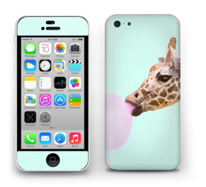 Giraff blåser boble Skin IPhone 5c