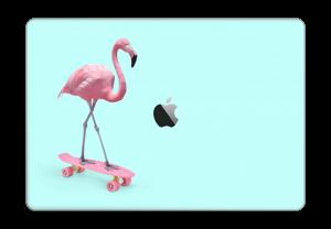"Flamingo på rullebrett Skin MacBook Pro 15"" 2016-"
