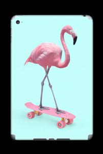 Flamingo på rullebrett Skin IPad Mini 4