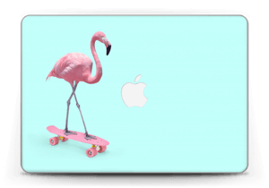 "Skateboarding flamingo Skin MacBook Pro Retina 13"" 2015"