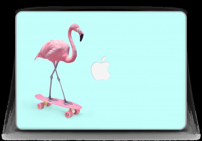 "Flamingo på rullebrett Skin MacBook Pro Retina 13"" 2015"