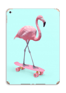 Flamingo på rullebrett Skin IPad Air 2