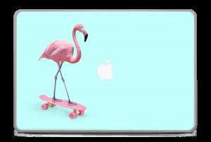 """Flamant Rose Skate Skin MacBook Pro 17"""" -2015"""
