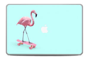 "Flamingo på rullebrett Skin MacBook Pro 17"" -2015"