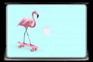 "Flamingo på rullebrett Skin MacBook Pro 15"" -2015"