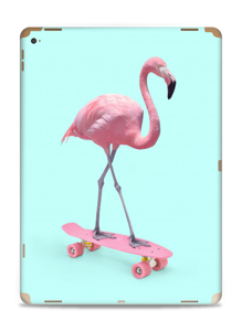 Skateboarding flamingo Skin IPad Pro 12.9