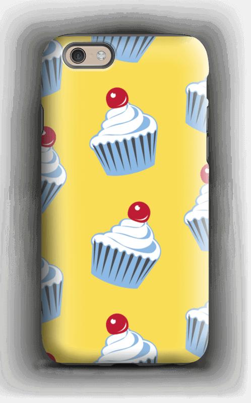 Small cute cupcakes  case IPhone 6 tough