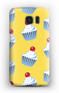 Small cute cupcakes  case Galaxy S6