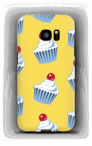 Small cute cupcakes  case Galaxy S7 Edge